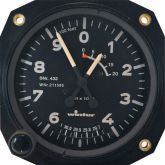 Altimetro range  0- 1000- 20000 feet , 80d , inch HG , form 1