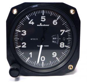 Altimetro range 0 - 10000 feet, 57d, inch HG