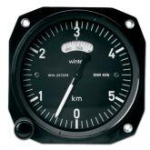 Altimetro range 0-1000-20000 feet, 80d, millibar, form1