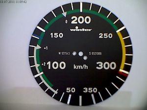 Anemometro range 0 - 350 km/h, 80d, 360°, form 1