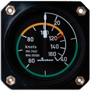 Anemometro range 0- 250 knots, 80d , 510° , form 1