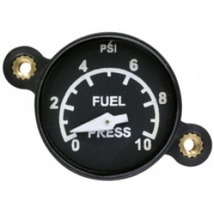"Indicatore pressione BENZINA 1-1/4""d, 0-15 PSI , B&W (requires 1EU35G UMA sender)"