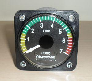 Indicatore RPM 57d, Rotax 582/simonini 0/7000 Northair