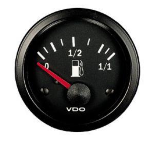 """Indicatore Livello Carburante VDO per gallegianti resistivi 2"""", 10-180 ohm"""