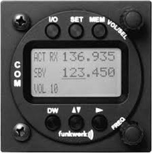COM VHF Funkwerk ATR 833 LCD TSO, 8,33 Khz, 57d