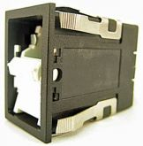 Interruttore On-On Rocker Switch Honeywell tipo bipolare DPST ( senza lente e luce)