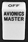 Lente per switch Rocker con: Avionics Master