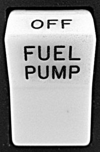 Lente per switch Rocker con: Fuel Pump