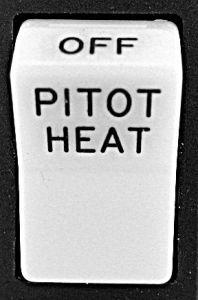 Lente per switch Rocker con: Pitot Heat