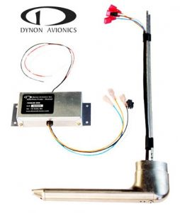 AOA/Pitot Probe, heated, 12V only, with controller
