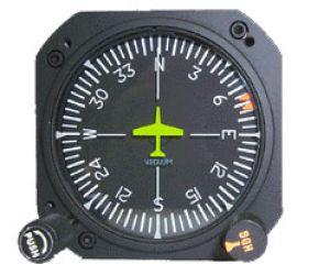 Giro direzionale elettrico con autopilota, modello RCA15BK-17, certificato TSO