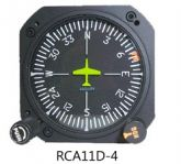 Giro direzionale vacuum con autopilota, modello RCA11D-4, certificato TSO