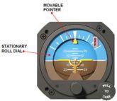 Orizzonte artificiale elettrico, modello RCA26BK-2, certificato TSO