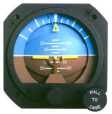 Orizzonte artificiale elettrico, modello RCA26EK-12, certificato TSO