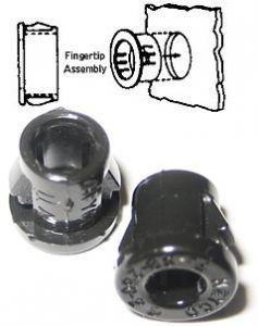 Snap Bushing in plastica nera, tipo 2053, SB 500-6
