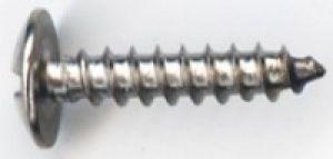 Vite tipo T10X8 a testa bombata Tipo A in Acciaio misura 10 lunghezza 1/2.