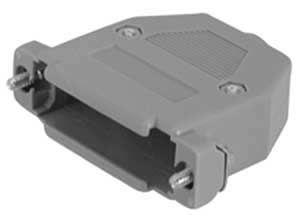 Cover Connettore DB 25  in plastica grigia
