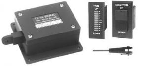 Servo Trim T2-7A kit Completo: motore, indicatore, switch, braccetto