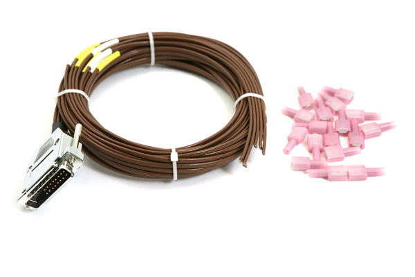 EGT/CHT Wire Harness, 4 Cylinder, 6' long, for EMS/FlightDEK