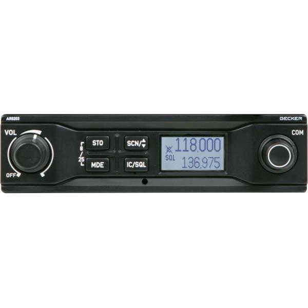 COM VHF Becker AR6203-(012), 8,33 Khz, 10 W