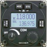 COM VHF Becker RCU6201-(112) modulo remoto a pannello,25 kHz