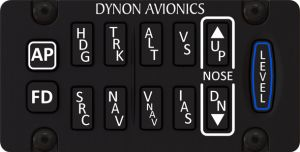 Pannello di controllo Autopilota SkyView Orizzontale mod. Tastierino, SV-AP-PANEL/H