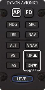 Pannello di controllo Autopilota SkyView Verticale mod. Tastierino, SV-AP-PANEL/V