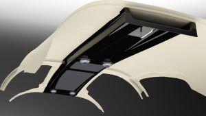 RV-10 Carbon Fiber Overhead Console