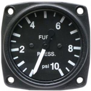 Indicatore pressione BENZINA 57d, 0-10 Psi UMA instr. B/W