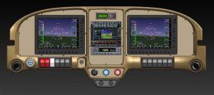 RV-7 RV-9 Lower Cap per quadro strumenti