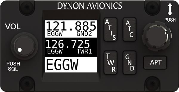 Radio SV-COM-X83/H SkyView VHF Com (8.33 kHz, Horizontal)