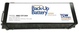IBBS-12v-6ah, Integrated Back-up Battery System 6 amp-hour capacity