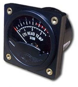 Indicatore temperatura CHT Westach per Lycoming, Term. tipo J, 57d