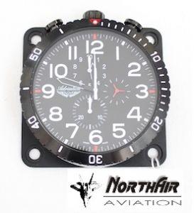 Orologio da pannello, 57d, North Black Clock