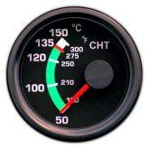Indicatore temperatura CHT 52d, per Rotax 912-914 range 150° tipo Flight instr.