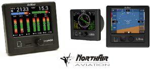 Kit avionico AvMap composto da : EnginBOX e Ultra EFIS