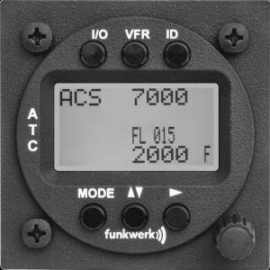 ATC Funkwerk TRT800 H LCD,mode A-C-S, 57d TSO