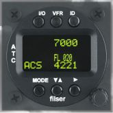 ATC Funkwerk TRT800 H OLED, mode A-C-S, 57d TSO