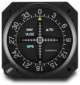 GI-106B Course Deviation Indicators con Install Kit
