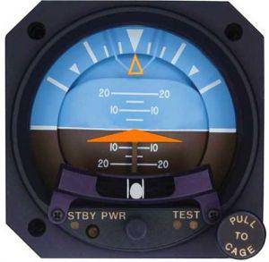 Orizzonte artificiale elettrico, 80d Modello 4300-433