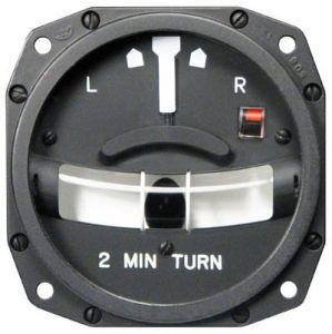 Turn and Slip Indicator, Modello 1234T100-7ATZ, 80d