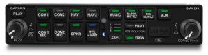 GMA 245 Audio Panel Digitale con Bluetooth