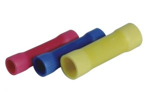 Giunti in linea Colore: Rosso, per cavo: 22-16, Confezione da 10 pz