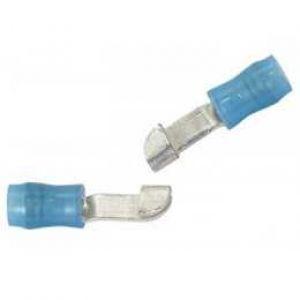 Knife Splices Colore: Blu, per cavo: 16-14, Confezione da 10 pz