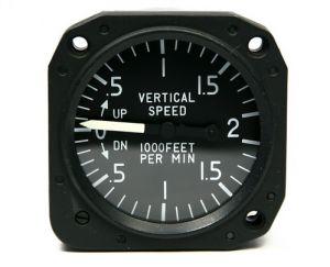 Variometro range +- 2000 ft/min, 80d, nTso