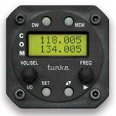 COM VHF Funkwerk ATR 833S / LCD TSO, 8,33 Khz, 57d