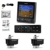 Pacchetto Autopilota Efis Garmin G5, + 2 servi GSA28 + centralina AP GMC305 + cablaggi