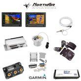 "Kit G3X Touch (GDU 460), doppio monitor 10"", PFD+GPS+EMS, batteria bkp, install.kit, ant.GPS"