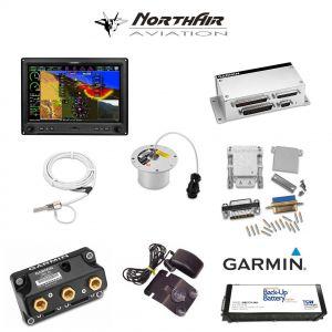 "Kit G3X Touch (GDU 460), singolo monitor 10"", PFD+GPS+EMS, batteria bkp, install.kit, ant.GPS"