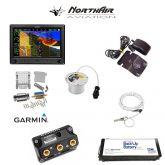 "Kit G3X Touch (GDU 460), singolo monitor 10"", PFD+GPS, batteria bkp, install.kit, ant.GPS"